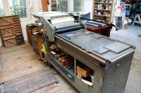Korrex-Andruckpresse für Buchdruck